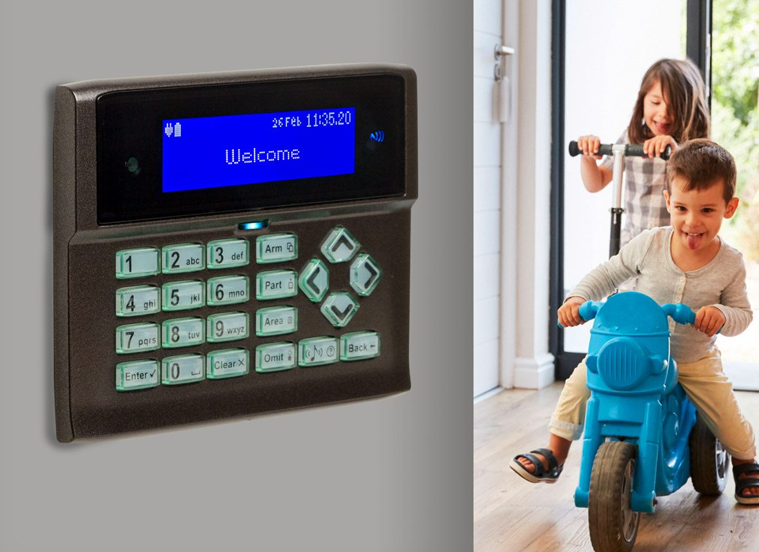 Our wireless alarm / security systems easily integrate into your property or business premises