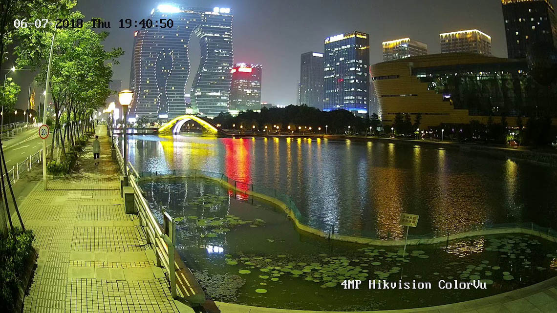 HIKVISION Colorvu Cameras / CCTV Screen Shot